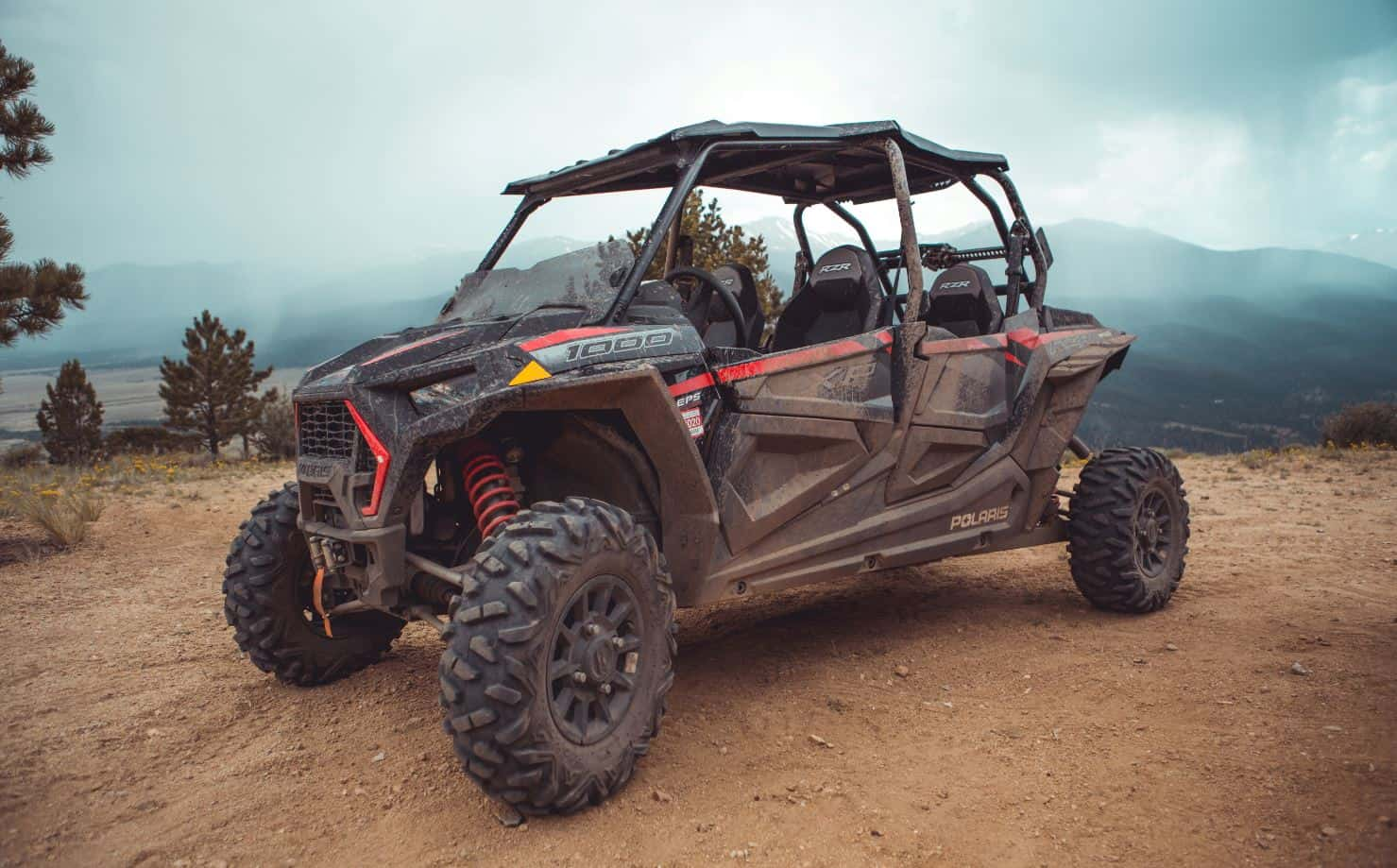 Polaris RZR 1000 4 seater