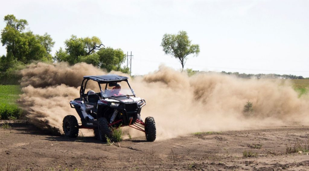 Polaris sidebyside utv driving