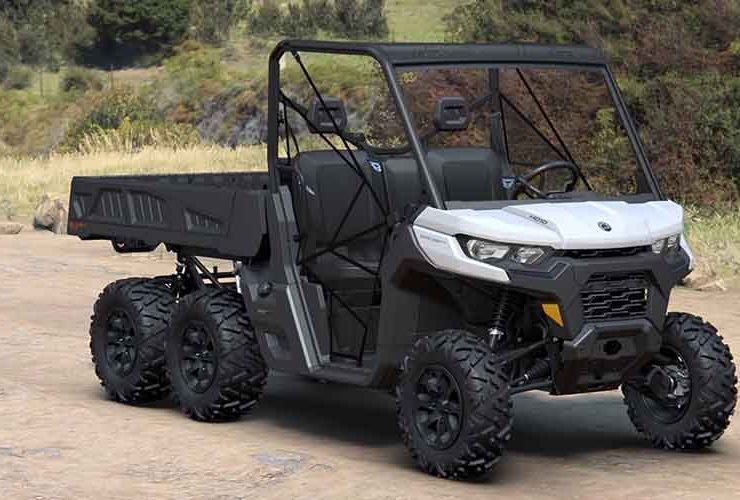 6x6 UTV - Can Am Defender 6x6 DPS