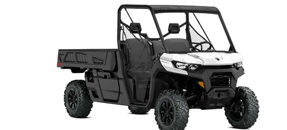 UTV with the biggest bed, Can-Am Defender PRO DPS