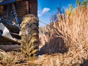 UTV closeup at farm